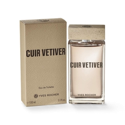 Cuir Vetiver Yves Rocher مردانه