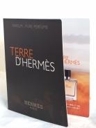 Terre D'Hermes Perfume Sample مردانه