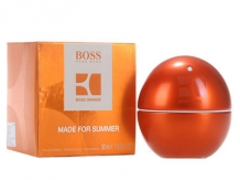 Boss In Motion Orange Made for Summer مردانه